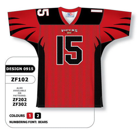 Custom Sublimated Football Jersey Design 0915