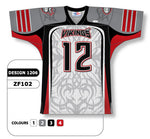 Custom Sublimated Football Jersey Design 1206