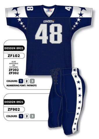 Custom Sublimated Football Uniform Set Design 0921