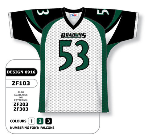 Custom Sublimated Football Jersey Design 0916
