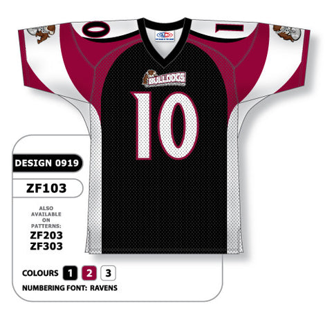 Custom Sublimated Football Jersey Design 0919