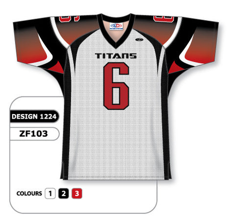 Custom Sublimated Football Jersey Design 1224