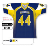 Custom Sublimated Football Jersey Design 1231
