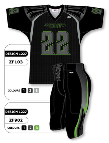 Custom Sublimated Football Uniform Set Design 1227