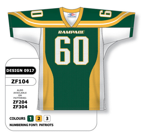 Custom Sublimated Football Jersey Design 0917