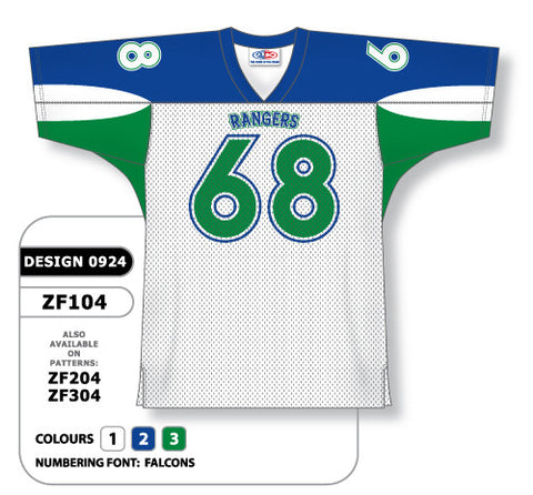 Custom Sublimated Football Jersey Design 0924