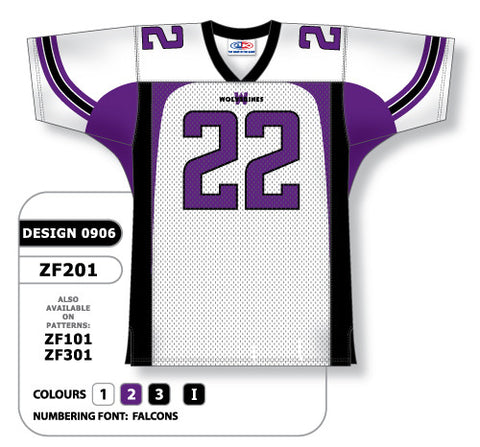 Custom Sublimated Football Jersey Design 0906