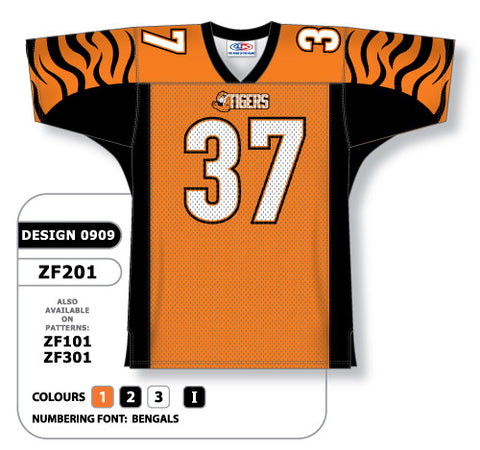 Custom Sublimated Football Jersey Design 0909