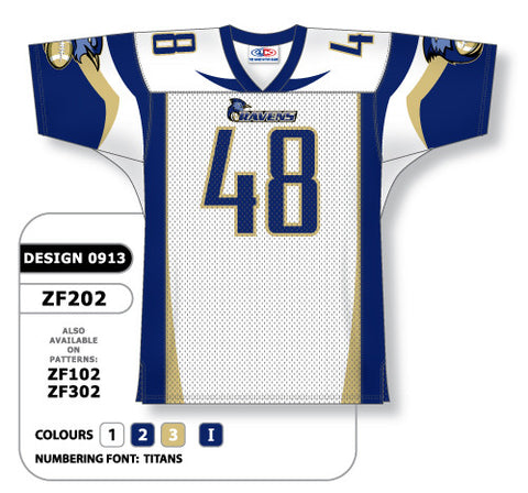 Custom Sublimated Football Jersey Design 0913