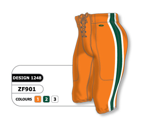 Custom Sublimated Football Pant Design 1248