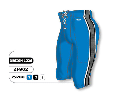 Custom Sublimated Football Pant Design 1226