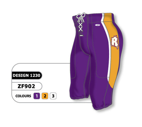 Custom Sublimated Football Pant Design 1230