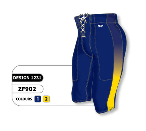 Custom Sublimated Football Pant Design 1231