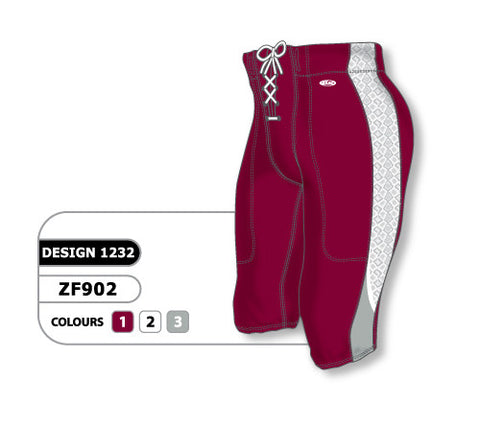 Custom Sublimated Football Pant Design 1232