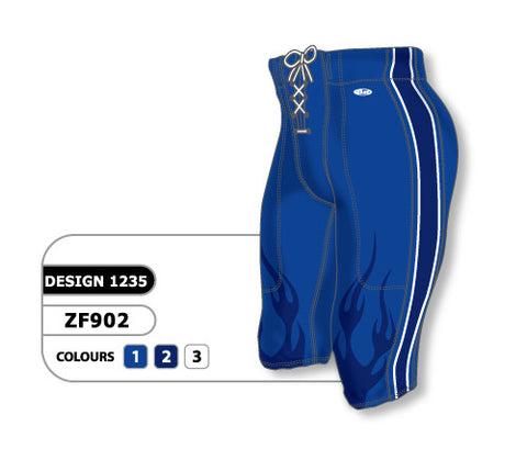 Custom Sublimated Football Pant Design 1235