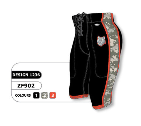 Custom Sublimated Football Pant Design 1236