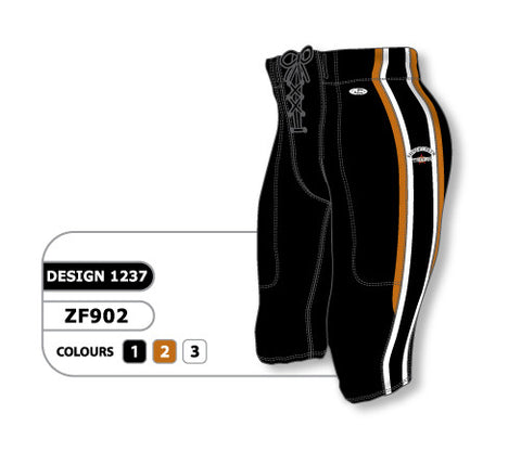 Custom Sublimated Football Pant Design 1237