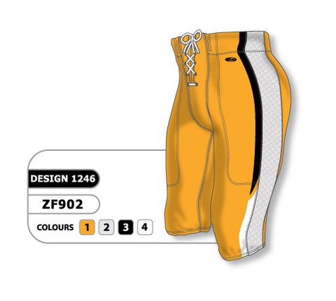 Custom Sublimated Football Pant Design 1246