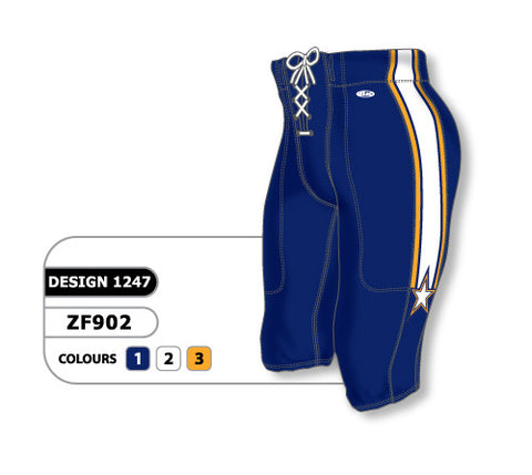 Custom Sublimated Football Pant Design 1247