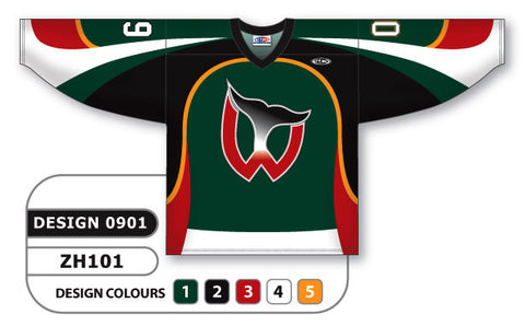 Custom Sublimated Hockey Jersey Design 0901