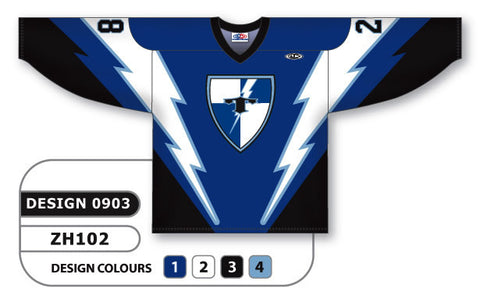 Custom Sublimated Hockey Jersey Design 0903