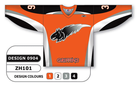 Custom Sublimated Hockey Jersey Design 0904
