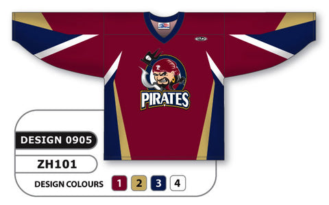 Custom Sublimated Hockey Jersey Design 0905