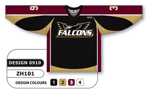 Custom Sublimated Hockey Jersey Design 0910