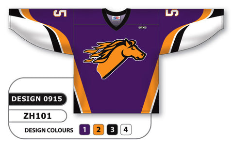 Custom Sublimated Hockey Jersey Design 0915