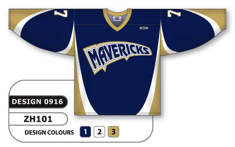 Custom Sublimated Hockey Jersey Design 0916