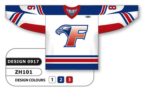 Custom Sublimated Hockey Jersey Design 0917