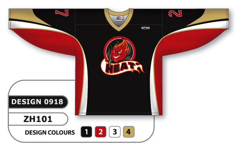 Custom Sublimated Hockey Jersey Design 0918