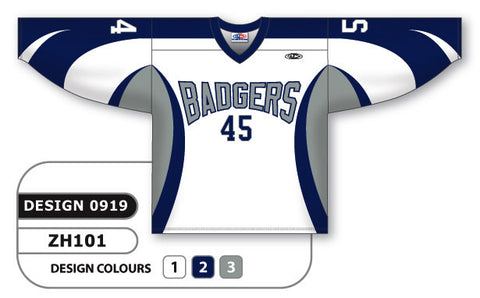 Custom Sublimated Hockey Jersey Design 0919