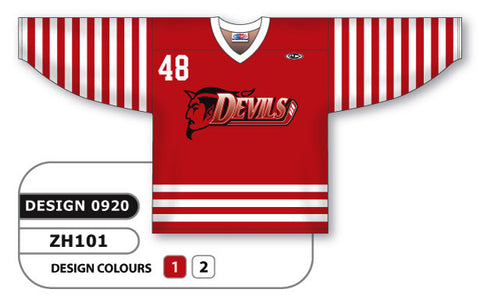 Custom Sublimated Hockey Jersey Design 0920