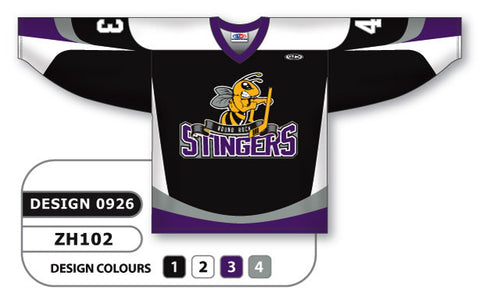 Custom Sublimated Hockey Jersey Design 0926