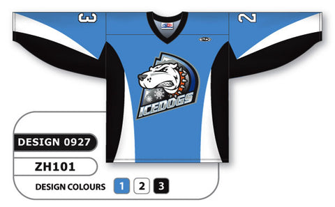 Custom Sublimated Hockey Jersey Design 0927