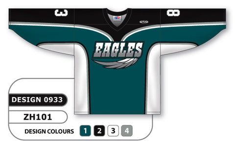 Custom Sublimated Hockey Jersey Design 0933