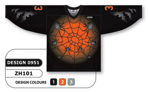 Custom Sublimated Hockey Jersey Design 0951