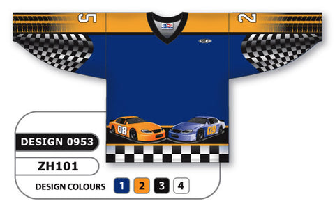 Custom Sublimated Hockey Jersey Design 0953