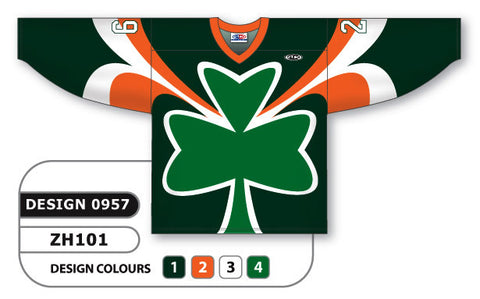 Custom Sublimated Hockey Jersey Design 0957
