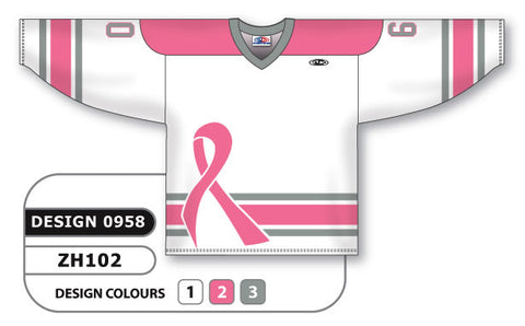Custom Sublimated Hockey Jersey Design 0958