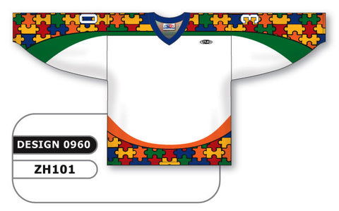 Custom Sublimated Hockey Jersey Design 0960