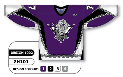 Custom Sublimated Hockey Jersey Design 1002