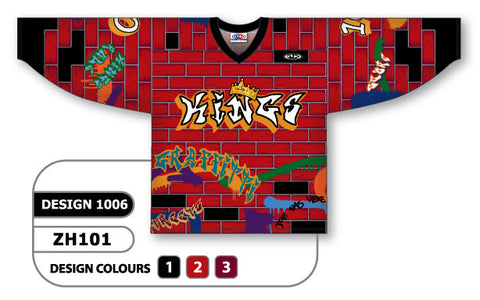 Custom Sublimated Hockey Jersey Design 1006