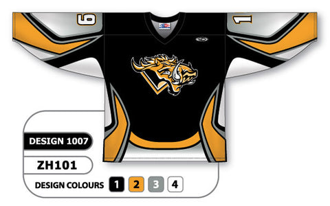 Custom Sublimated Hockey Jersey Design 1007