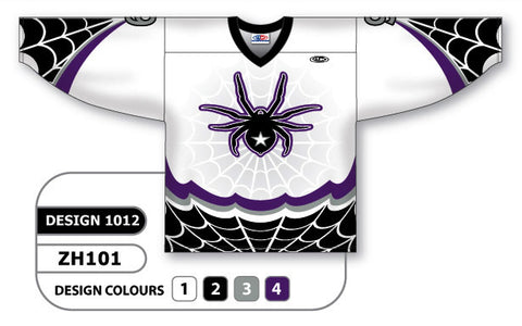 Custom Sublimated Hockey Jersey Design 1012