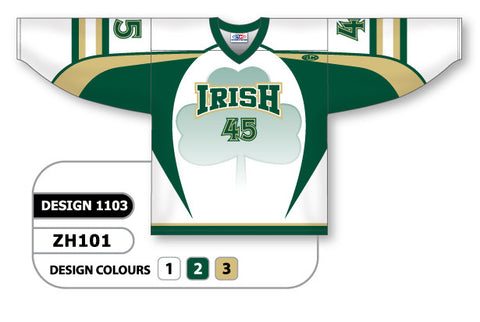 Custom Sublimated Hockey Jersey Design 1103