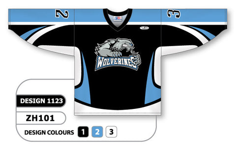 Custom Sublimated Hockey Jersey Design 1123