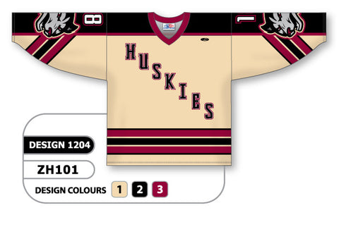 Custom Sublimated Hockey Jersey Design 1204