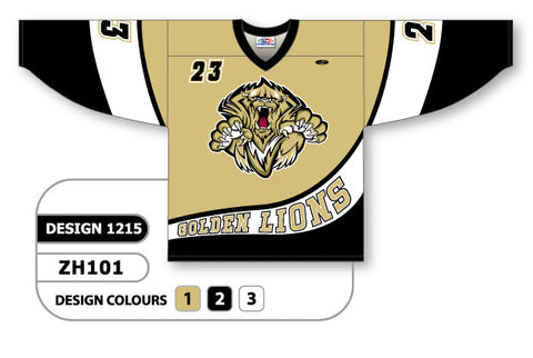 Custom Sublimated Hockey Jersey Design 1215